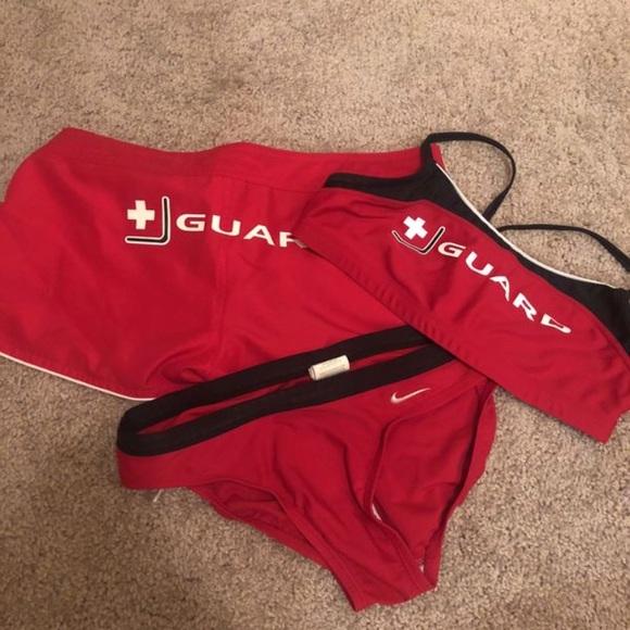 f4cbf8c807a3 Nike lifeguard swimsuit. M 5b553c4f5fef37141f83b44f